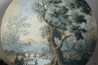 Overdoor Painting
